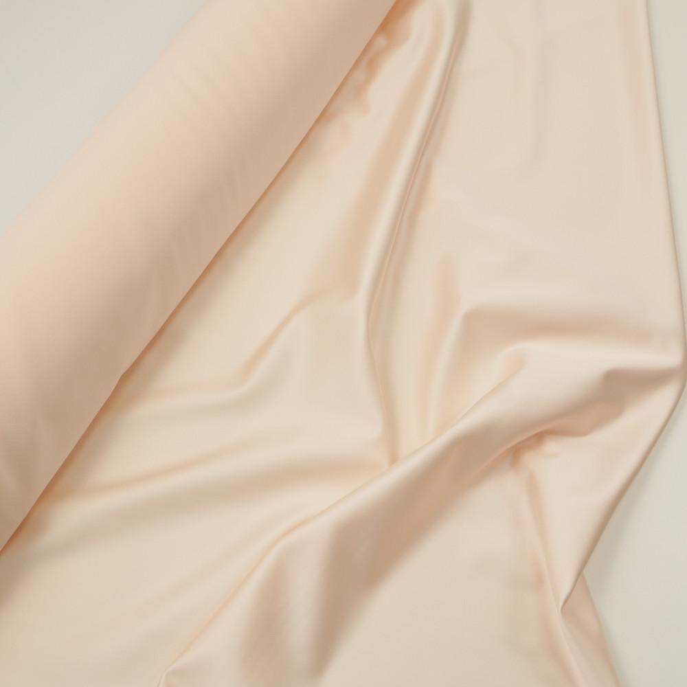 Cupon 1.3 m tafta elastica SCARLET Rose Crem