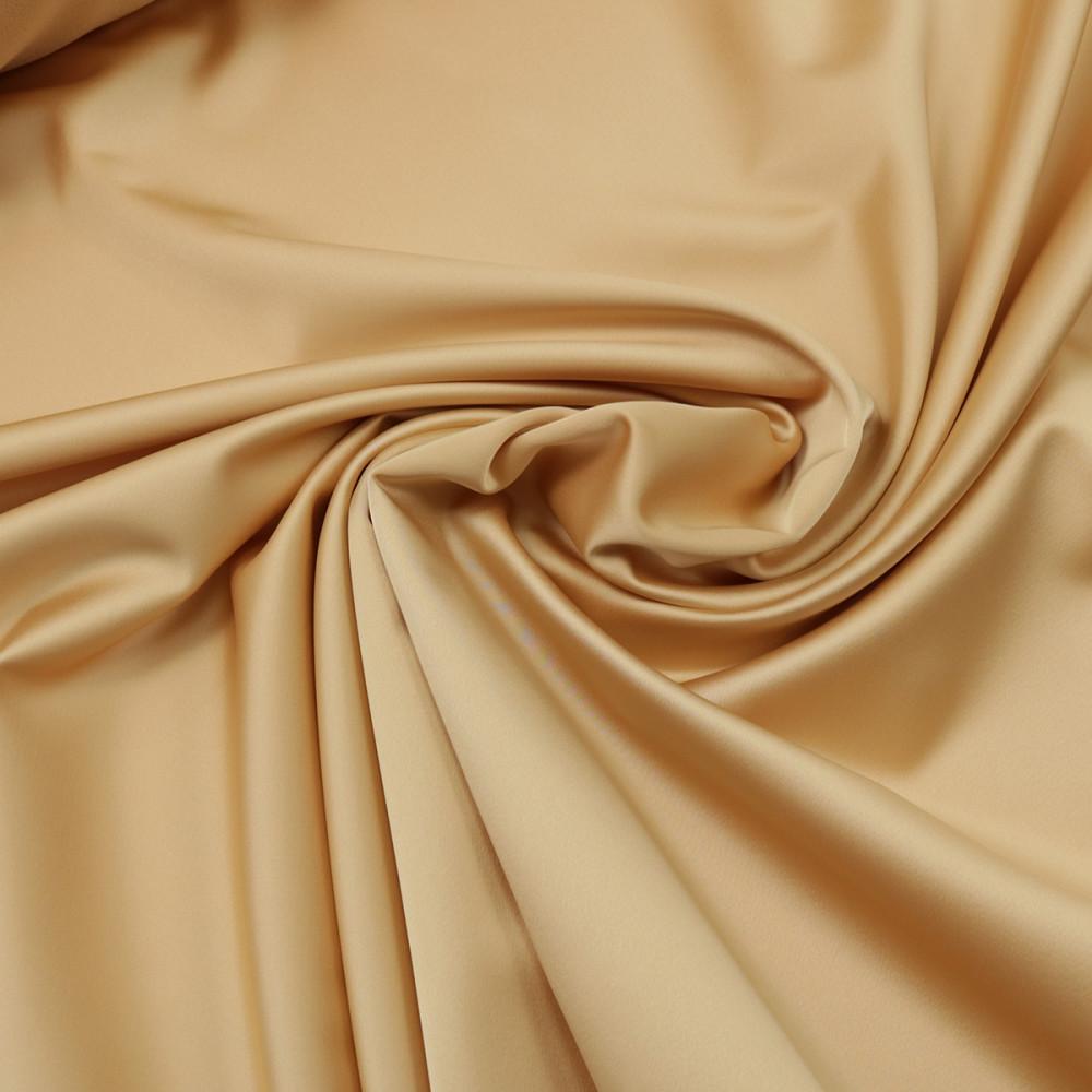 Cupon 2 m tafta elastica SCARLET Bej Gold