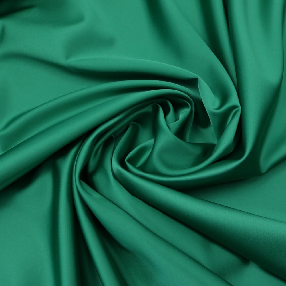 Cupon 1m tafta elastica SCARLET Verde smarald