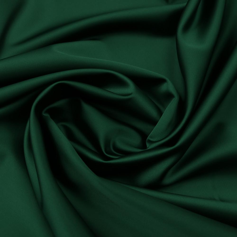 Cupon 2.2 m tafta elastica SCARLET Verde brad