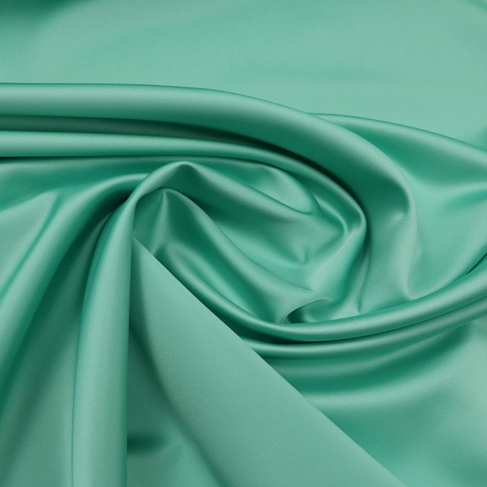 Cupon 1 m tafta elastica SCARLET Turcoaz Vernil
