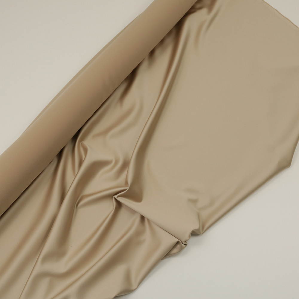 Cupon 2.6 m tafta elastica SCARLET Nude