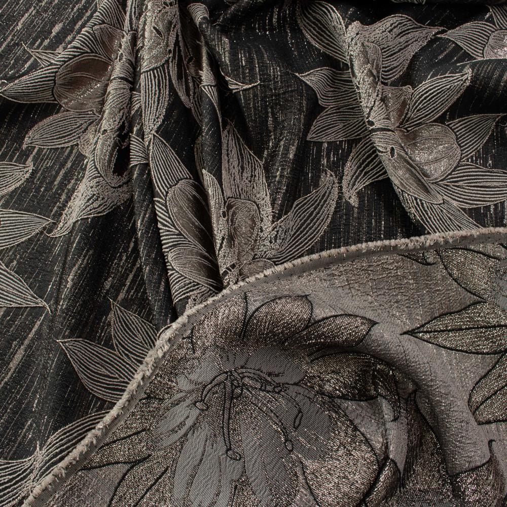 Jacquard Negru Rose