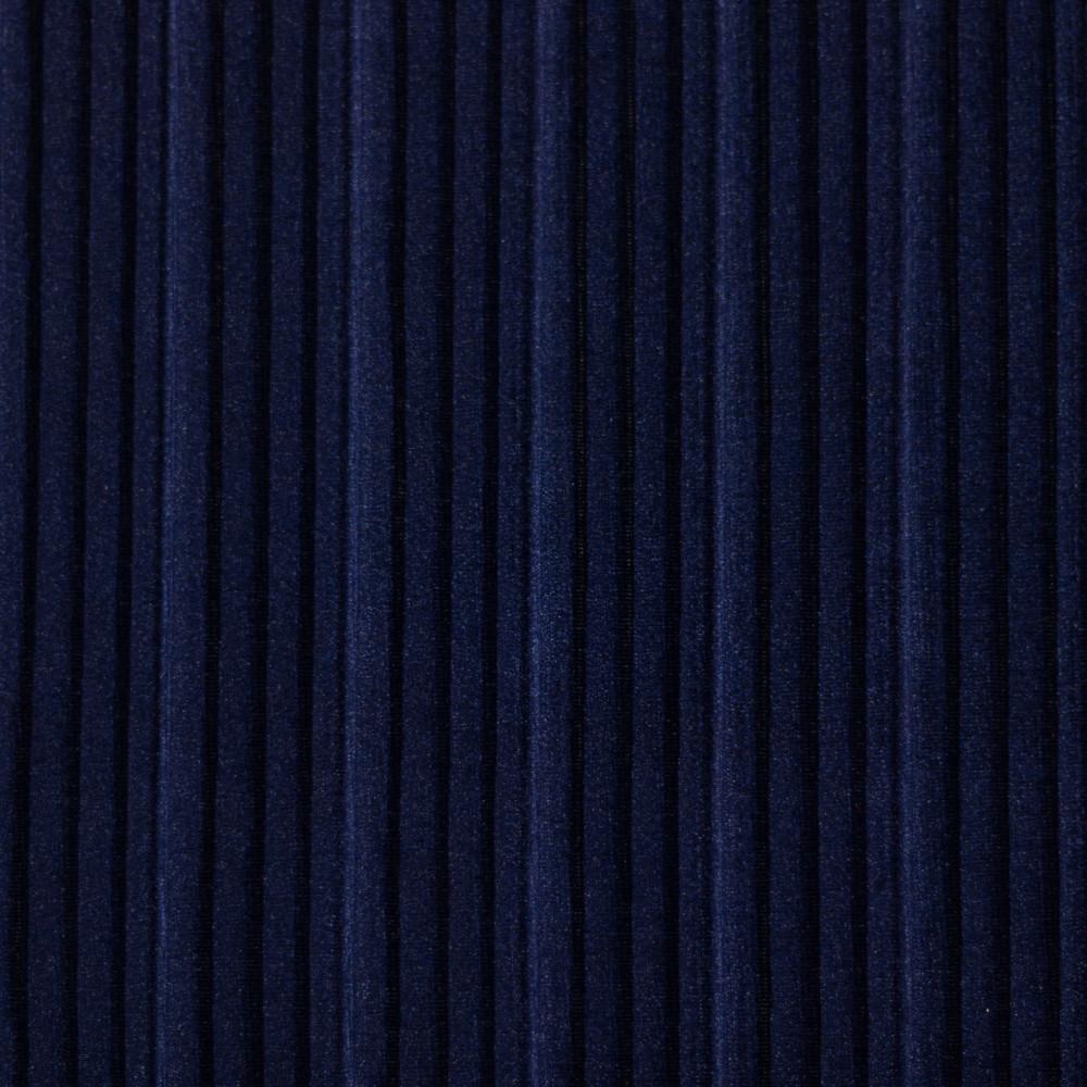 Catifea plisata Bleumarin