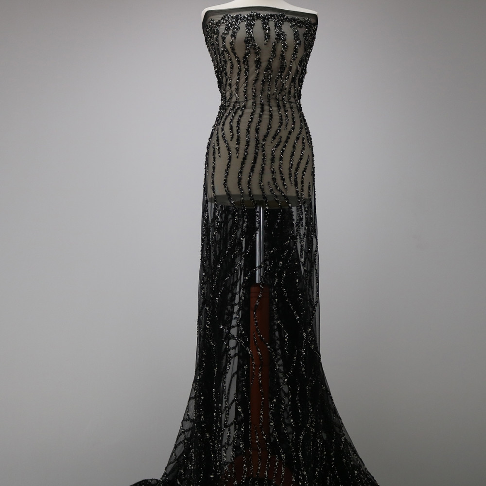 Dantela Bertha Negru