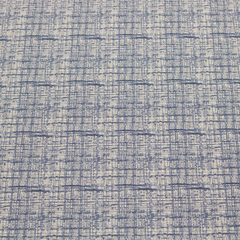 Jacquard Elastic Gri Bleu