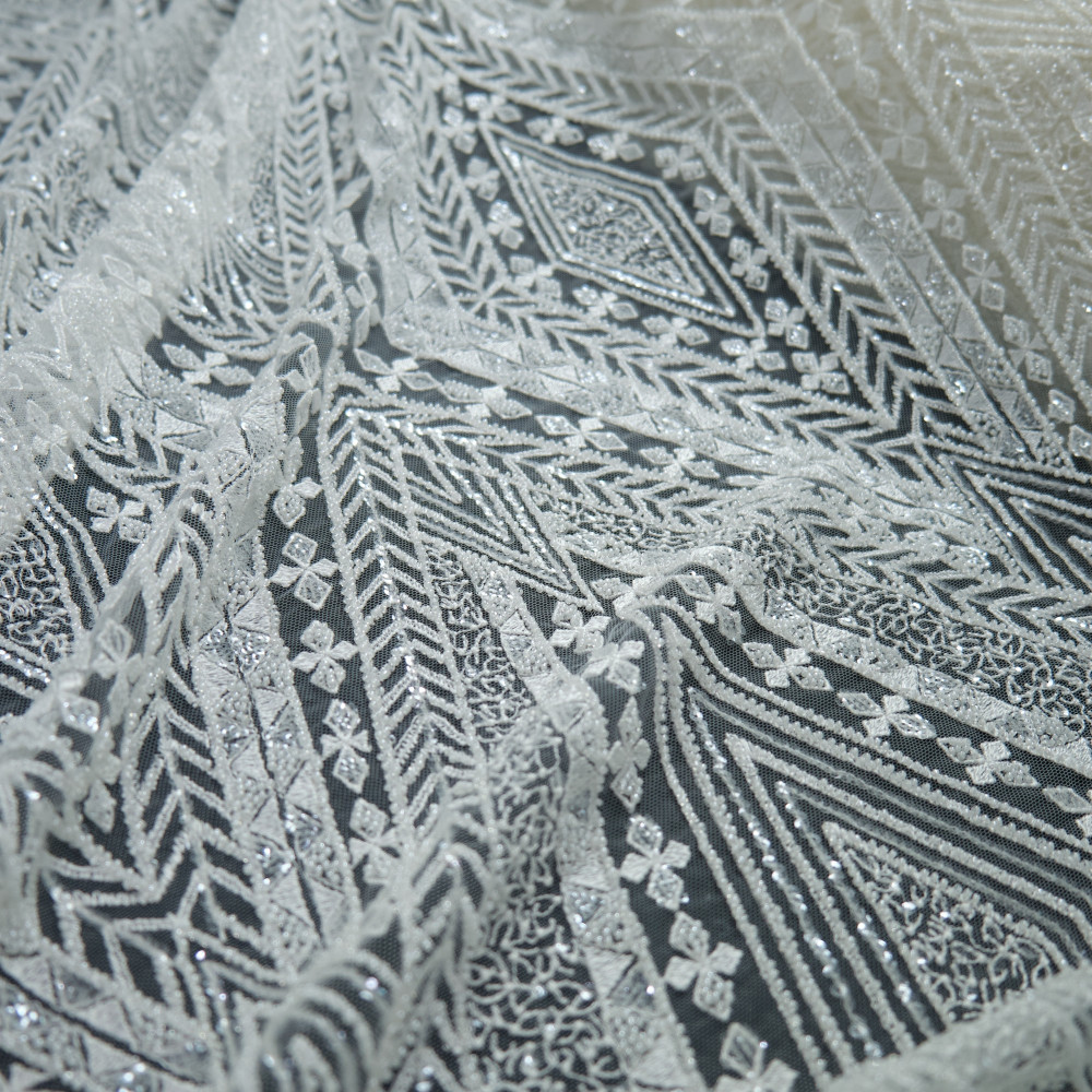 Dantela de mireasa Ivoire