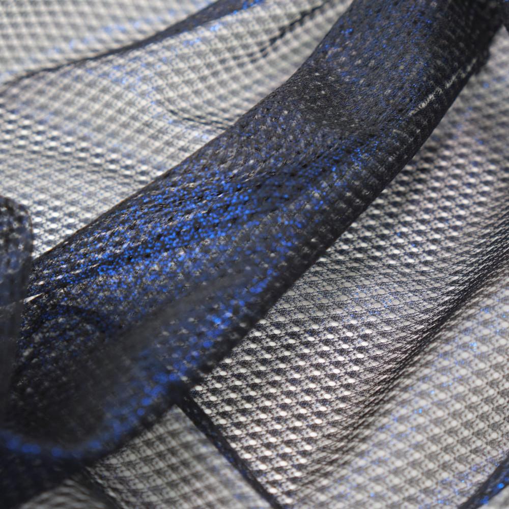 Plasa cu pelicula metalica Bleumarin