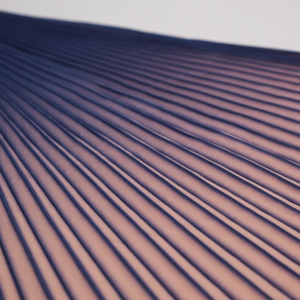 Material plisat in degrade pentru fuste lungi Albastru Nude
