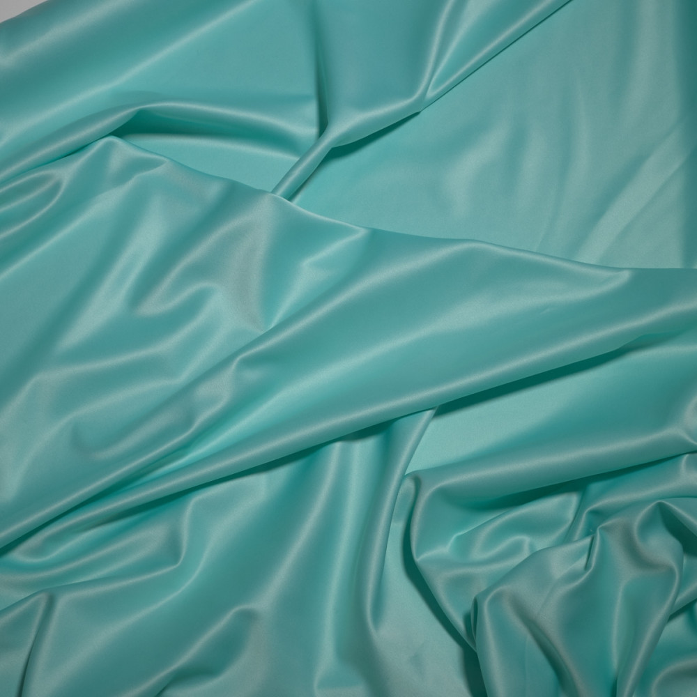Matase sintetica elastica FRENCH Aqua vernil