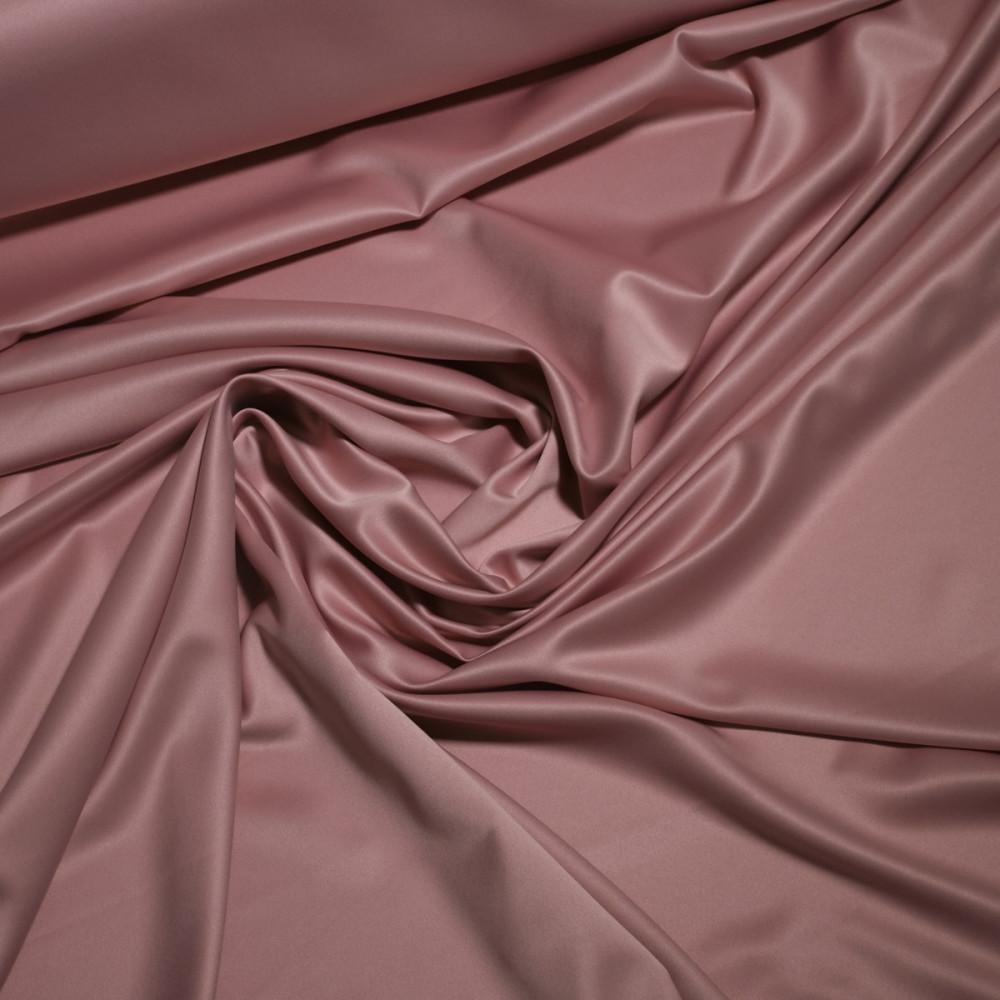 Matase sintetica elastica FRENCH Roz prafuit inchis