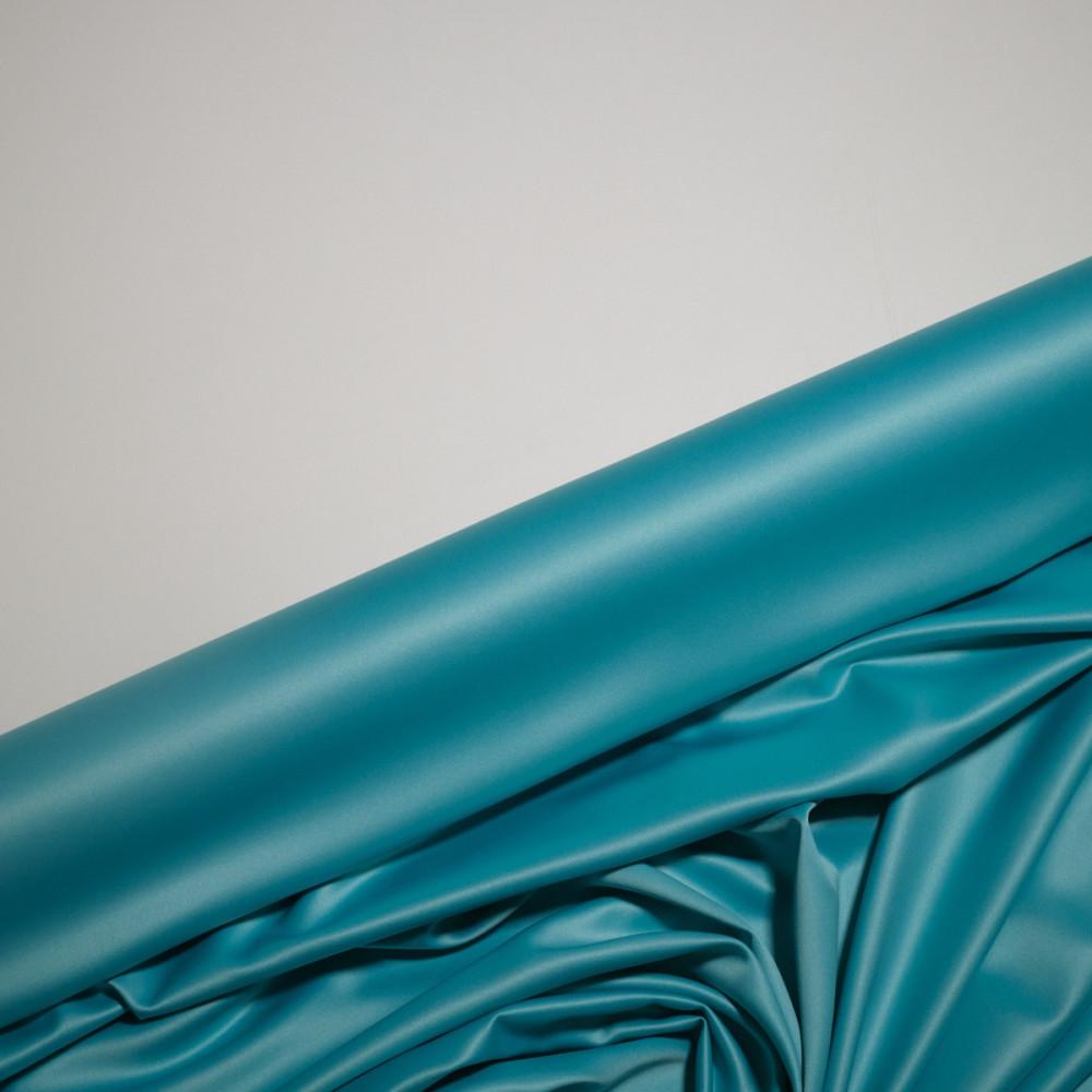 Matase sintetica elastica FRENCH Turcoaz albastru