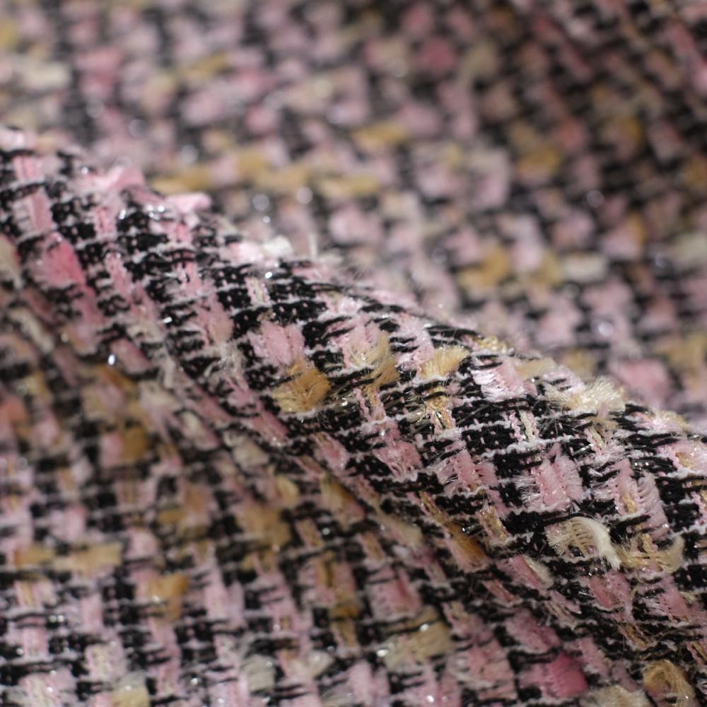 Stofa tip Chanel Multicolorata