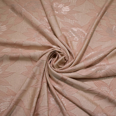Jacquard Rose Gold