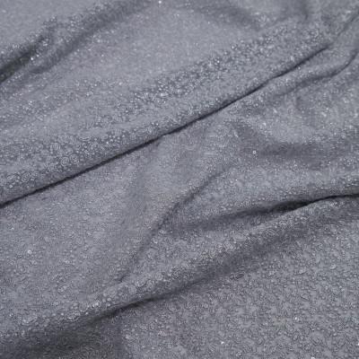 Dantela simpla elastica cu fir metalic, Argintiu Gri