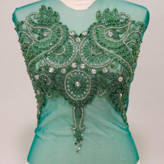 Bust fata spate Verde smarald