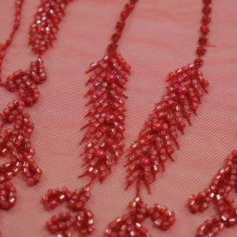 Dantela Haute-Couture Red