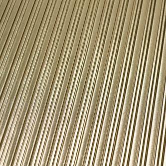 Material plisat cu fir si pelicula metalica