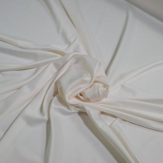 Matase sintetica elastica FRENCH Creamy Ivory