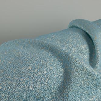 Jacquard metalic Bleu Auriu