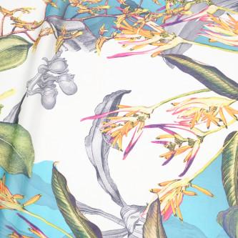 Matase sintetica imprimata digital multicolor