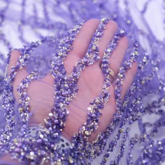 Dantela Bertha Ultra Violet