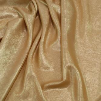 Matase sintetica cu pelicula metalica Auriu