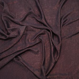 Matase sintetica cu pelicula metalica Purple Grey