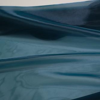 Organza tare cu aspect sidefat Turcoaz din Albastru