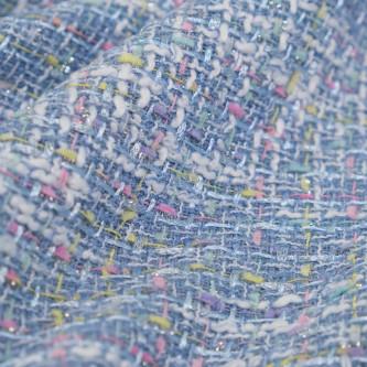 Stofa multicolorata in nuante deschise